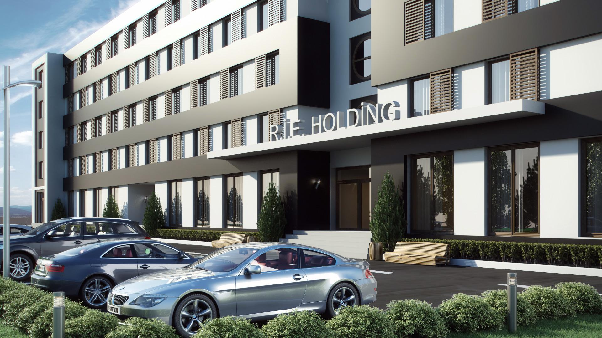 Holding Binası Azerbaycan