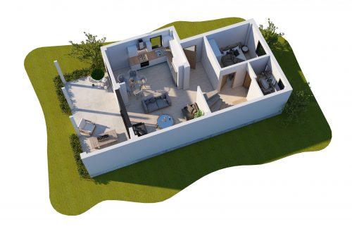 2D&3D Plan - Vefa Konut